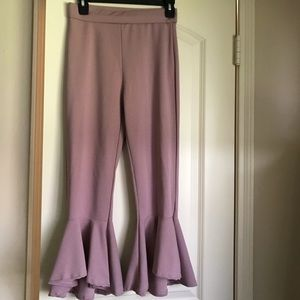 Pants - Boutique Women's Ruffle pants size small